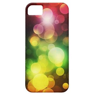 Arco iris Bokeh iPhone 5 Case-Mate Cárcasa