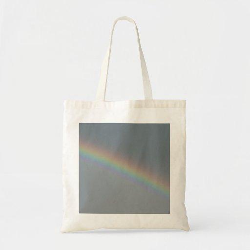 Arco iris bonito bolsas