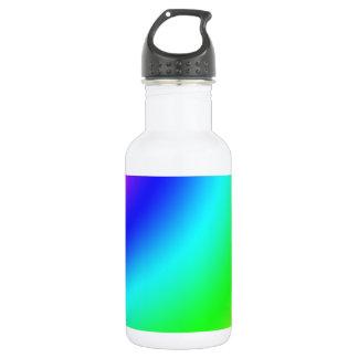 Arco iris botella de agua