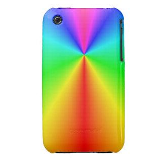 Arco iris brillante iPhone 3 Case-Mate cobertura