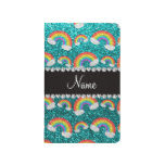 Arco iris brillantes conocidos personalizados del  cuaderno