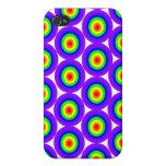 Arco iris Bulleyes iPhone 4 Cobertura