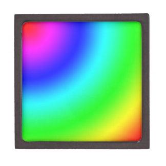 Arco iris caja de regalo de calidad