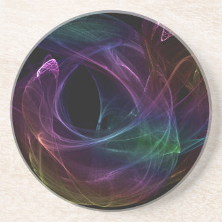 Arco iris caótico posavasos personalizados