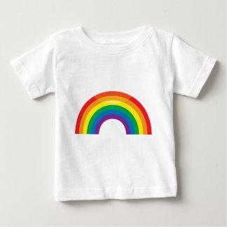 Arco iris clásico playera para bebé