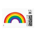 Arco iris clásico sello