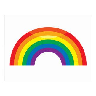 Arco iris clásico postales
