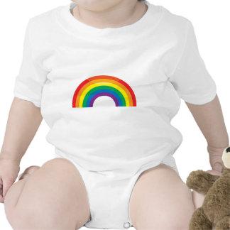 Arco iris clásico traje de bebé