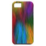 Arco iris coloreado iPhone 5 Case-Mate coberturas