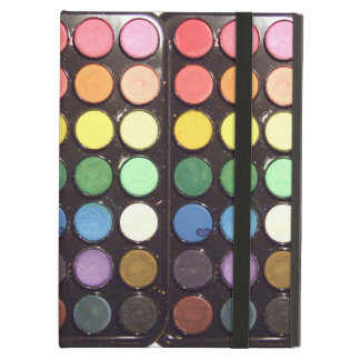 Arco iris colorido de la caja de la pintura