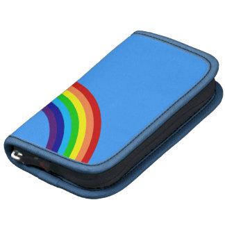 arco iris colorido planificadores