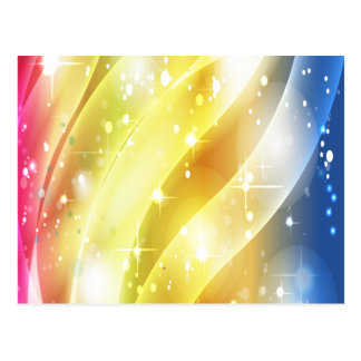 Arco iris colorido y magnífico tarjetas postales
