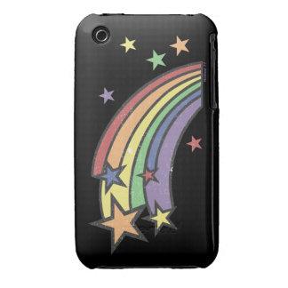 Arco iris con el caso del iPhone 3 de las Funda Bareyly There Para iPhone 3 De Case-Mate