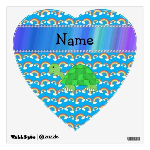 Arco iris conocidos personalizados de la tortuga