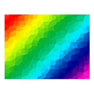 Arco iris cristalino postales