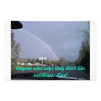 arco iris, cualquier persona que diga no tienen gu papelería