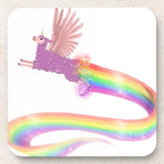 Arco iris de Allamacorn Posavasos De Bebidas