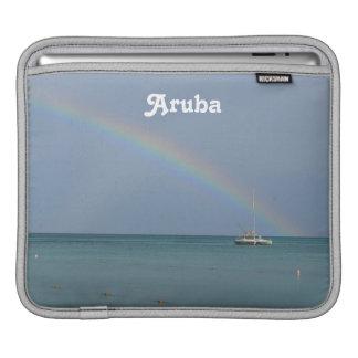 Arco iris de Aruba Mangas De iPad