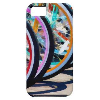 Arco iris de bicicletas iPhone 5 fundas