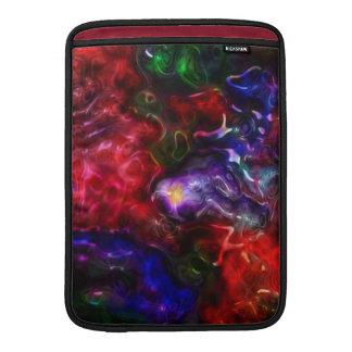 Arco iris de Blobular Funda Macbook Air
