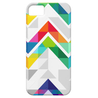 Arco iris de Chevron iPhone 5 Case-Mate Cárcasas