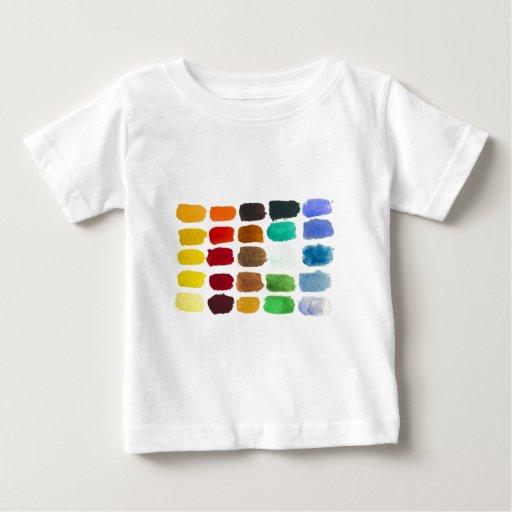 arco iris de colores camisas