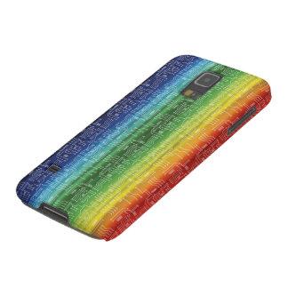 Arco iris de Digitaces Funda De Galaxy S5