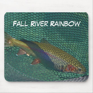 Arco iris de Fall River Alfombrilla De Ratón