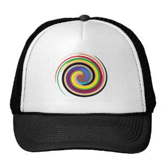 Arco iris de giro gorras de camionero