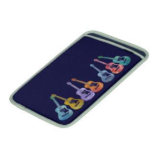 Arco iris de guitarras funda macbook air