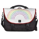 Arco iris de Hexidecimal Bolsa Para Ordenador