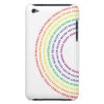 Arco iris de Hexidecimal iPod Touch Case-Mate Carcasas