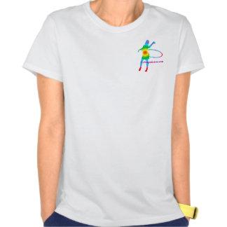 Arco iris de Hoopalicious Camiseta