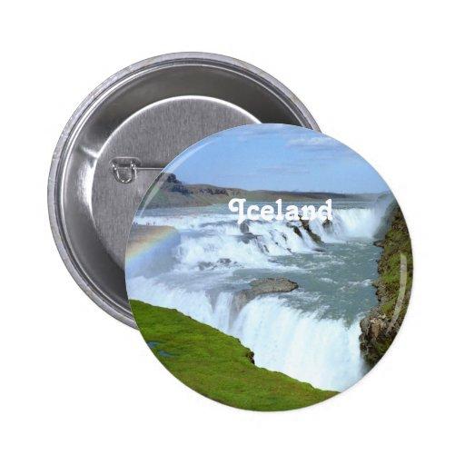 Arco iris de Islandia Pins