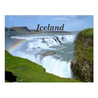 Arco iris de Islandia Postales