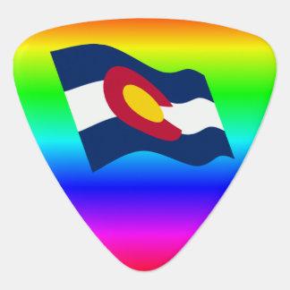 Arco iris de la bandera de Colorado Plectro