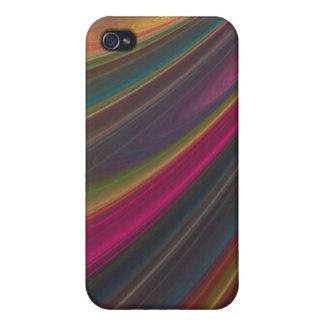 Arco iris de la caja iPhone4 de la mota de los col iPhone 4 Coberturas