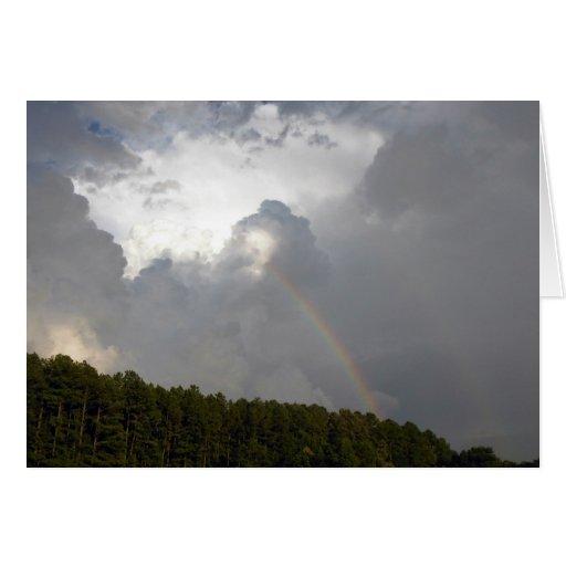 Arco iris de la esperanza felicitaciones