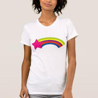 arco iris de la estrella t-shirt