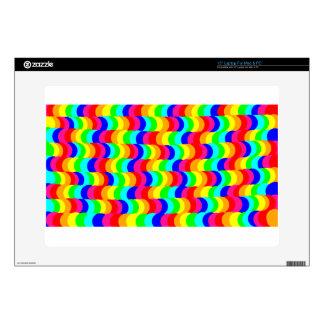 Arco iris de la ilusión óptica portátil calcomanía