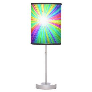 Arco iris de la lámpara de mesa por el highsaltire