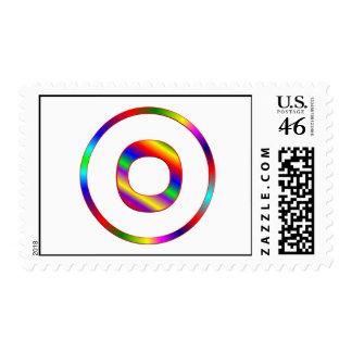 Arco iris de la letra O