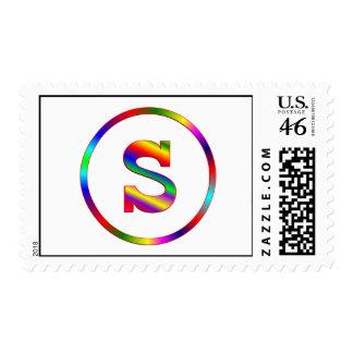 Arco iris de la letra S