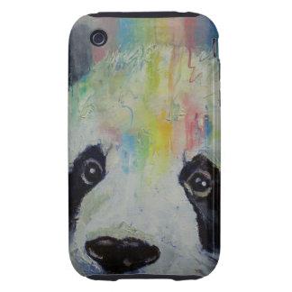 Arco iris de la panda carcasa though para iPhone 3