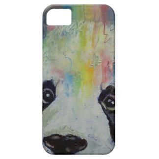 Arco iris de la panda funda para iPhone SE/5/5s