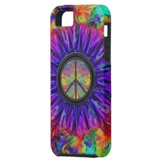 Arco iris de la paz funda para iPhone SE/5/5s