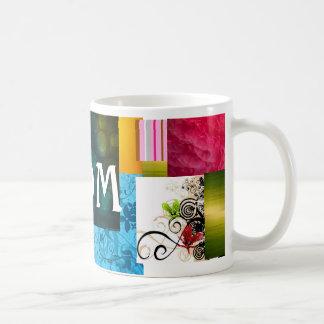 Arco iris de la textura taza clásica