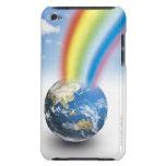 Arco iris de la tierra funda iPod