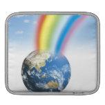 Arco iris de la tierra mangas de iPad