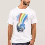 Arco iris de la tierra playera